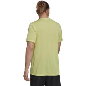 adidas TERREX Primeblue Trail Functional Logo T-Shirt Men, geel